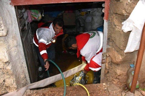 امداد رسانی به 72 خانوار، صاعقه جان یک نفر را گرفت