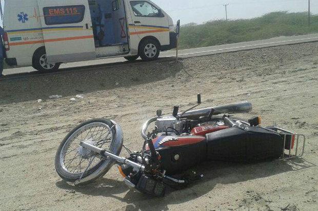 مرگ موتورسوار 40 ساله در اثر تصادف با خودوری سواری