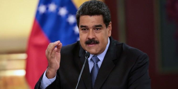 مادورو از قطع روابط دیپلماتیک با کلمبیا اطلاع داد