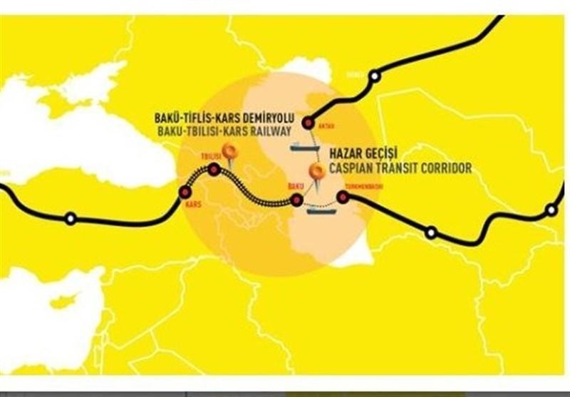 گزارش خبرنگاران، رویکرد روسیه به خط آهن باکو تفلیس کارس