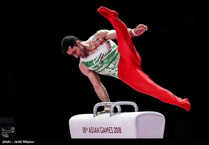 ژیمناستیک قهرمانی آسیا، کیخا نایب قهرمان شد