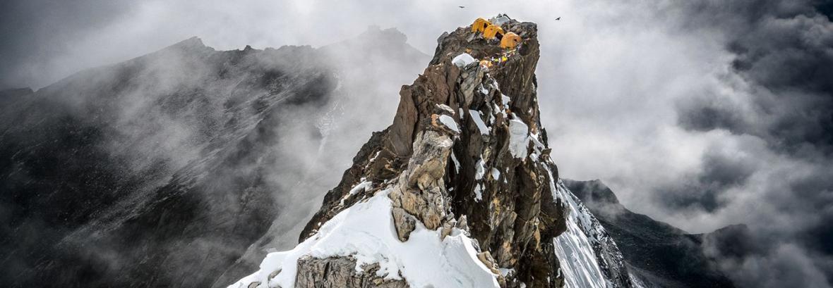 قله را بگیر! ، صعود بر بام اما دابلام