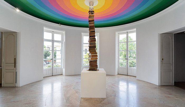 نمایشگاه هنری در عمارت قرن هجدهمی؛مکان برگزاری:بوردو فرانسه ، تصاویر