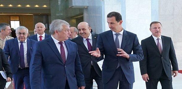 اسد در جریان دستورکار نشست امروز کشورهای ضامن روند آستانه نهاده شد