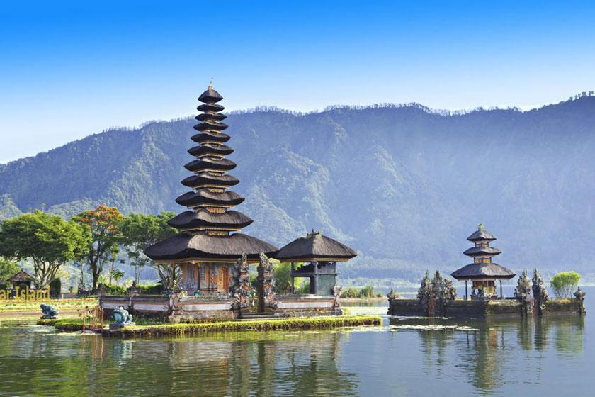 6 مکان شگفت انگیز در اندونزی