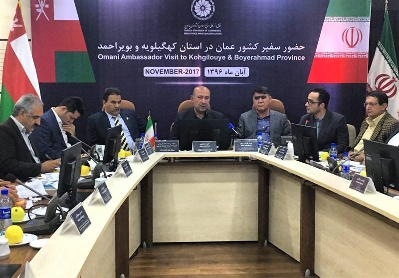کشور عمان می تواند دروازه تجارت خارجی کهگیلویه و بویراحمد باشد