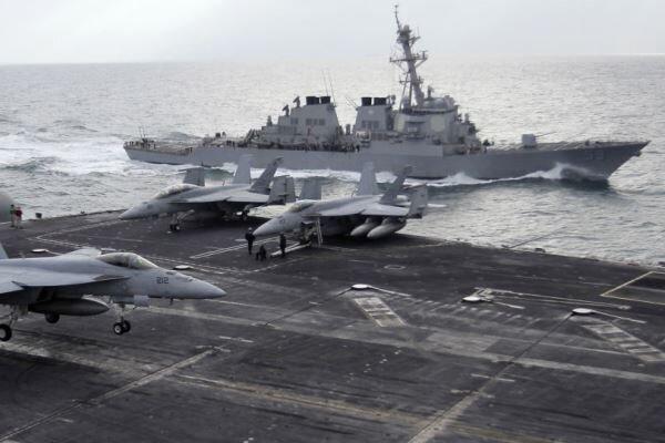 ائتلاف دریایی آمریکا در خلیج فارس کار خود را شروع کرد
