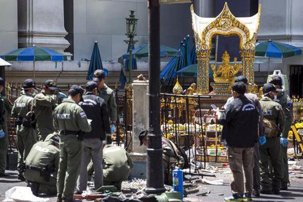 تداوم اقدامات پلیس تایلند برای شناسایی مظنونان بمبگذاری