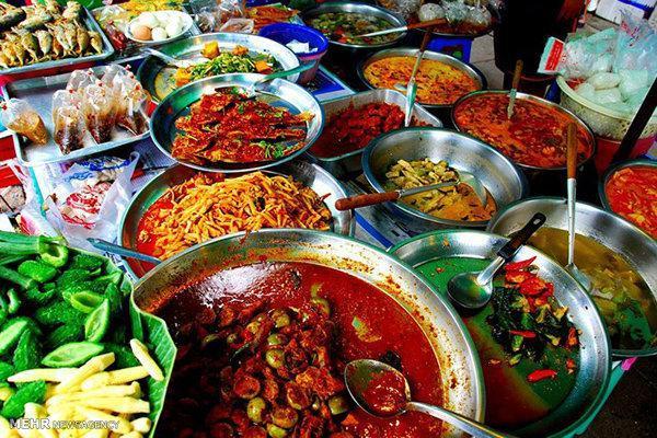 چقدر غذاهای خیابانی را می شناسید؟