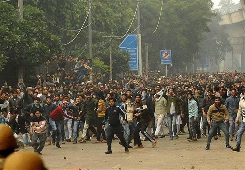 حمله پلیس هند به مسلمانان معترض 2 کشته برجای گذاشت