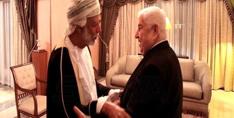 وزیر خارجه عمان بر همکاری با سوریه تاکید نمود