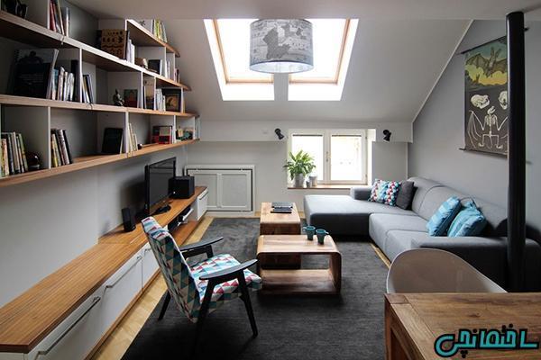 ایده های کاربردی طراحی داخلی آپارتمان های کوچک