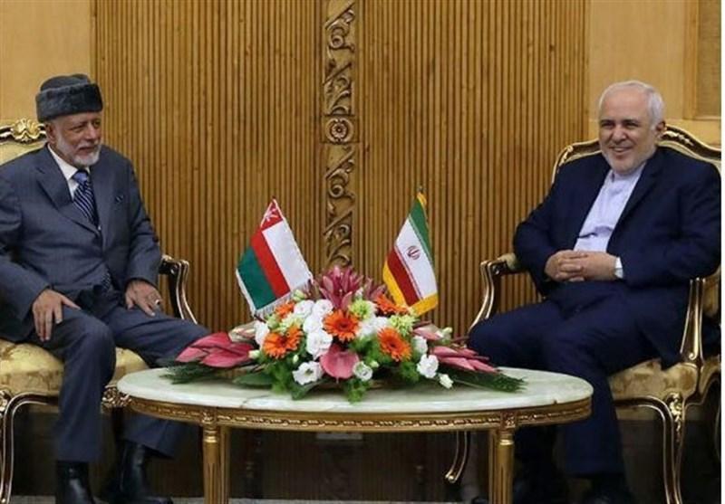 ملاقات وزیر خارجه عمان با ظریف در تهران