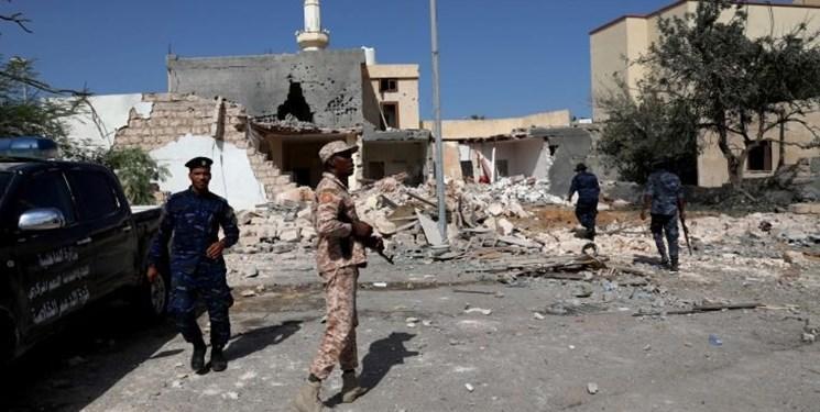 لیبی، حمله نیروهای حفتر به مناطق مسکونی در طرابلس