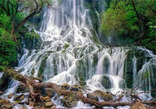 آبشارهای لرستان ، خروشان در قلب زاگرس
