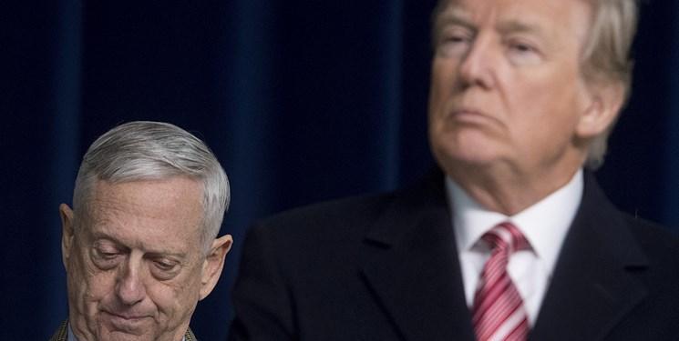 ترامپ به ژنرال های آمریکایی: مشتی احمق و بچه هستید