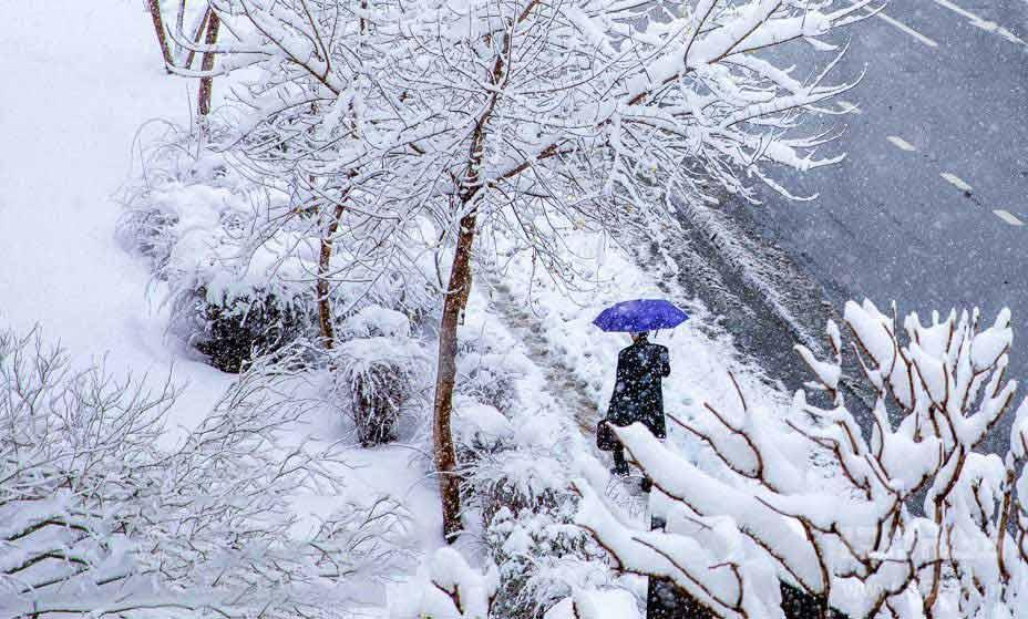 در یک روز برفی کجای تهران پیاده روی کنیم؟
