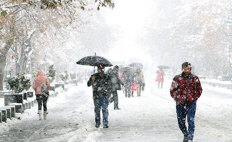 ورود سامانه بارشی جدید ، کاهش محسوس دمای تهران