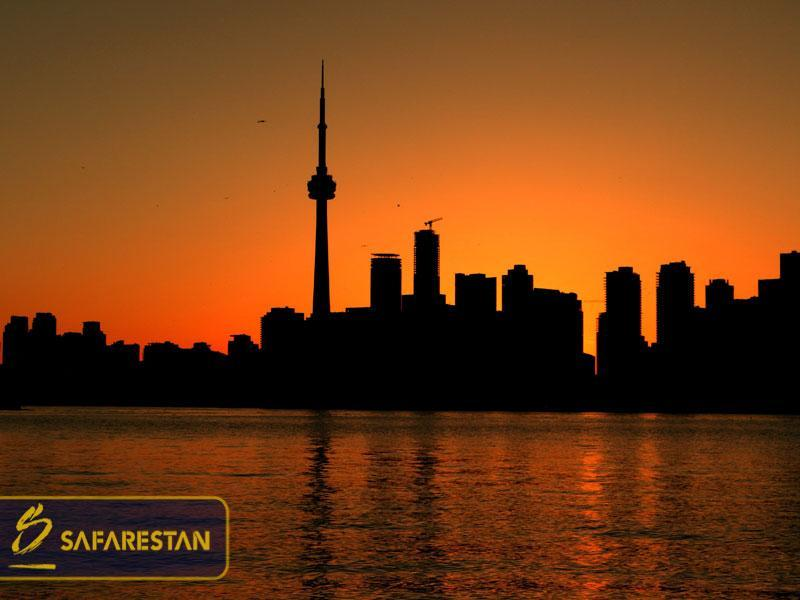 بلیط هواپیما به تورنتو شهری برای هفتاد و دو ملت