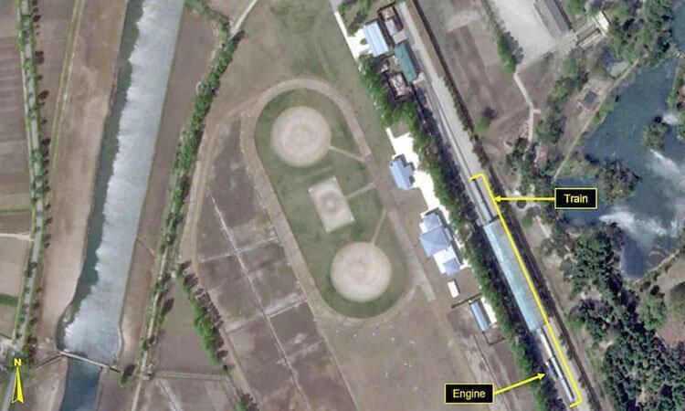 توقف قطار ویژه در ایستگاه اقامتگاه رهبر کره شمالی ، احتمال انجام یک آزمایش موشکی تازه