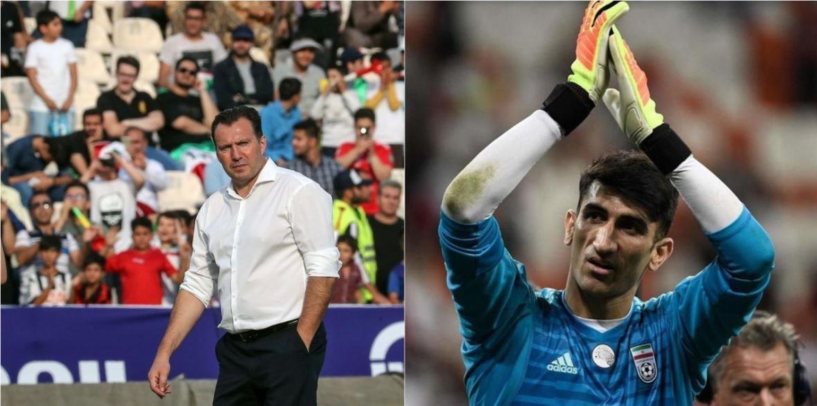 ویلموتس در آستانه ملاقات با دروازه بان تیم ملی فوتبال ایران