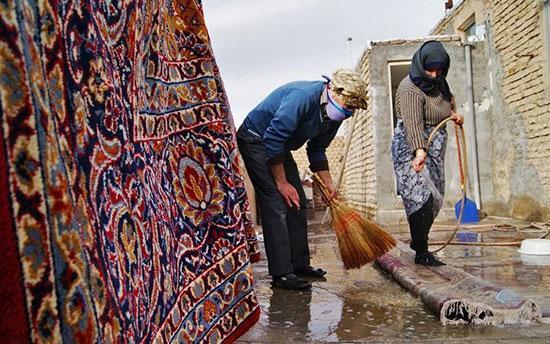 10 نکته برای آسیب ندیدن در خانه تکانی عید
