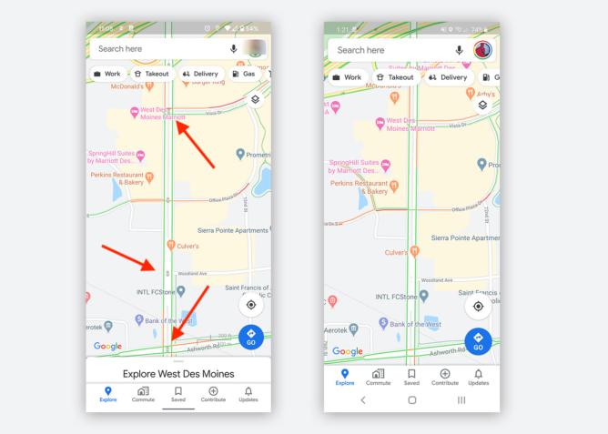 نسخه اندروید گوگل مپس به زودی می تواند چراغ های راهنمایی را به شما نشان دهد
