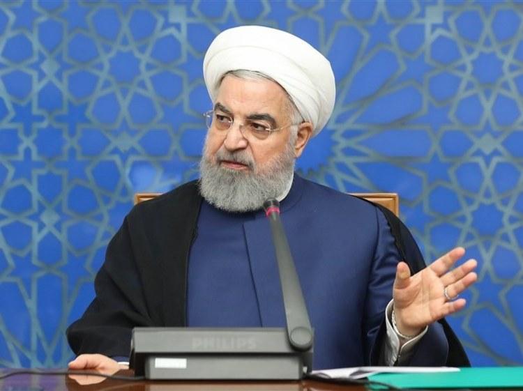 روحانی: از توطئه جنگ قوای سه گانه عبور کردیم