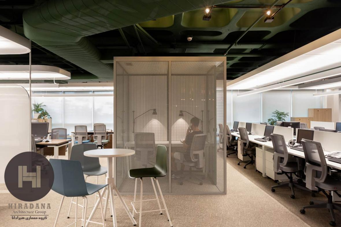 بازسازی و طراحی داخلی اداری در ریودوژانیرو برزیل