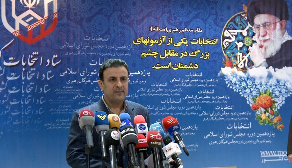 خبرنگاران سخنگوی ستاد انتخابات: دور دوم انتخابات مجلس در 3100شعبه برگزار می گردد