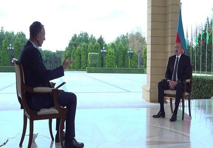 علی اف: توقف درگیری ها منوط به واکنش ارمنستان است