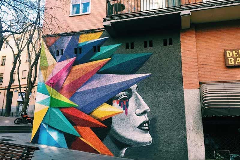 بهترین آثار هنر خیابانی مادرید را کجا ببینیم؟