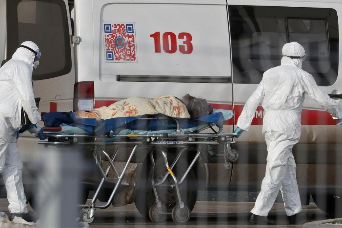 مرگبارترین روز کرونایی در روسیه