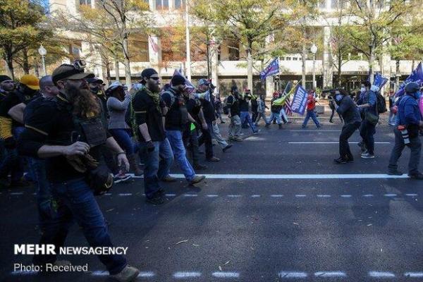 بازداشت بیش از 30 نفر در ناآرامیهای پساانتخاباتیِ واشنگتن دیسی