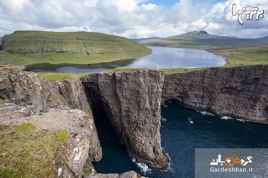 دریاچه عجیب و رویایی در جزایر ناهموار فارو