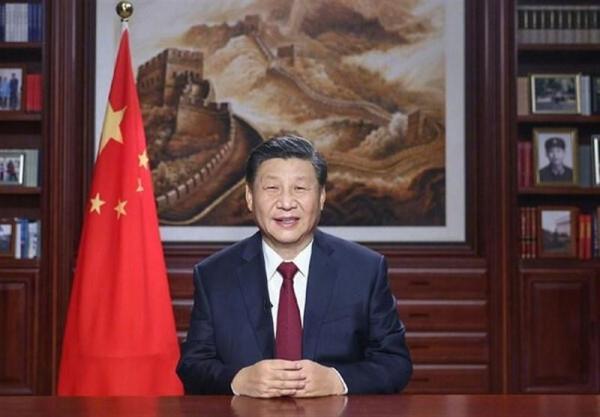 پیغام تبریک سال نوی رئیس جمهور چین با تشکر ویژه از کادر درمانی این کشور