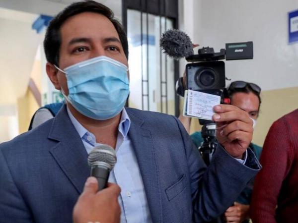 آرائوز در دور نخست انتخابات ریاست جمهوری اکوادور پیشتاز است