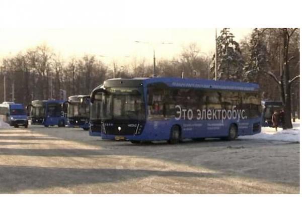 تمام اتوبوس های مسکو تا 2030 برقی می شوند
