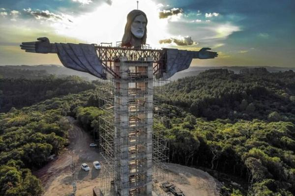 ساخت تندیس بزرگ مسیح (ع) در برزیل