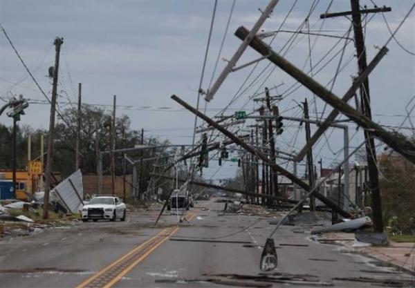 قطع برق هزاران خانه در آمریکا بر اثر طوفان شدید