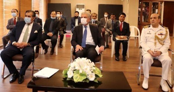 وزیرخارجه پاکستان از سفارت این کشور در تهران بازدید کرد