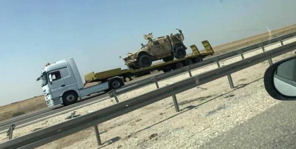 دو کاروان پشتیبانی آمریکا در عراق مورد هدف نهاده شد