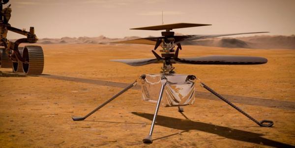 دومین پرواز نبوغ در مریخ، بالگردها عناصر اصلی مأموریت در مریخ می شوند