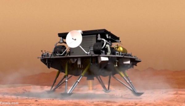 (ویدئو) پای چین هم به مریخ باز شد