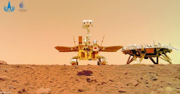 (ویدئو) چین صداهای ضبط شده از سطح مریخ را منتشر کرد