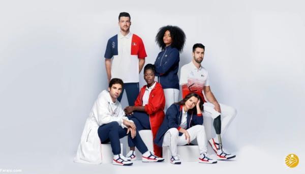 لباس های سوپرشیک فرانسوی ها برای المپیک
